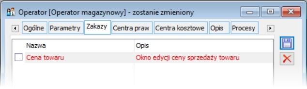 przykładowy zakaz operatora